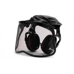 Protège-oreilles avec visière grillagée HUSQVARNA